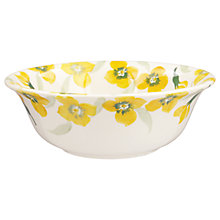 Buy Emma Bridgewater Wallflower Cereal Bowl, Yellow Online at johnlewis.com