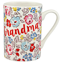 Buy Cath Kidston Walton Rose 'Grandma' Grace Mug Online at johnlewis.com