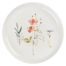 Buy John Lewis Leckford Anenome 18cm Bone China Plate Online at johnlewis.com