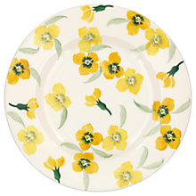 "Buy Emma Bridgewater Wallflower 8.5"" Plate, Yellow Online at johnlewis.com"