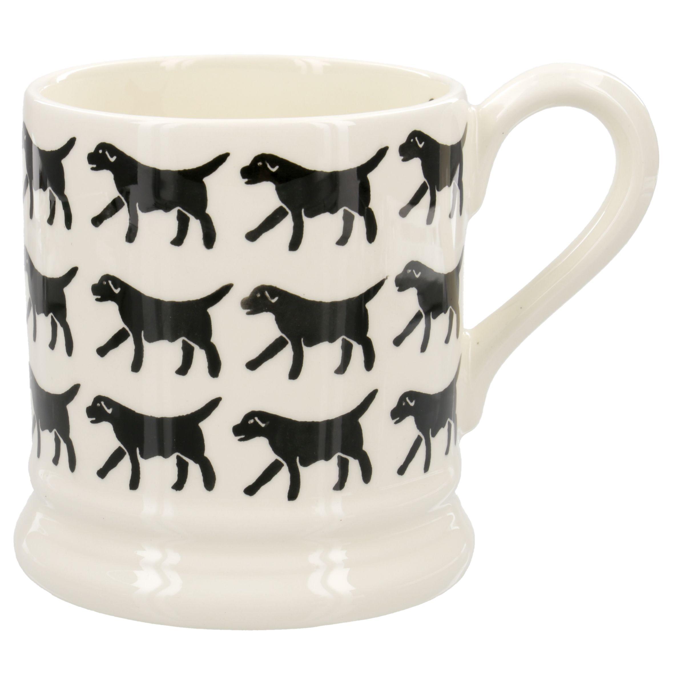 Emma Bridgewater Emma Bridgewater Black Labrador 1/2pt Mug