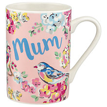 Buy Cath Kidston Blossom Birds 'Mum' Grace Mug Online at johnlewis.com