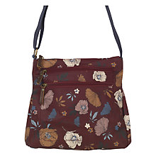 Buy Fat Face Peony Floral Print Cross Body Bag Online at johnlewis.com