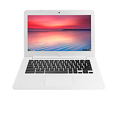 "Buy ASUS Chromebook C300SA, Intel Celeron, 2GB RAM, 32GB eMMC, 13.3"" Online at johnlewis.com"