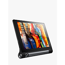 "Buy Lenovo Yoga TAB3 10, Qualcomm APQ8009, Android, Wi-Fi, 2GB RAM, 16GB, 10.1"" HD, Black Online at johnlewis.com"