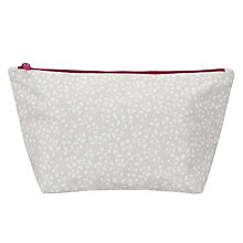 Buy John Lewis Arley Wash Bag, French Grey Online at johnlewis.com
