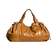 Buy Gerard Darel 36 Heures Leather Shoulder Bag, Tobacco Online at johnlewis.com