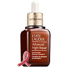 Buy Estée Lauder Breast Cancer Aware Advanced Night Repair With Pin Online at johnlewis.com