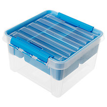 Buy Orthex SmartStore Classic 12 Storage Box with Insert (8L) Online at johnlewis.com