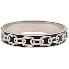 Buy Halcyon Days Chain Hinge Bangle Online at johnlewis.com