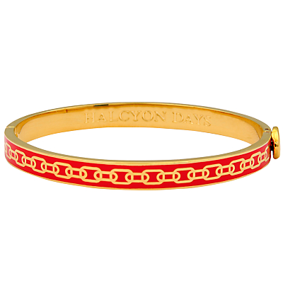 Halcyon Days Skinny Chain Bangle