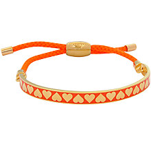 Buy Halcyon Days Heart Friendship Bracelet Online at johnlewis.com