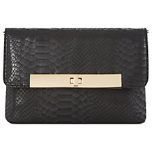 Buy Dune Bastille Clutch Bag, Black Online at johnlewis.com