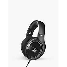 Buy Sennheiser HD 569 Full Size Headphones with E.A.R. Technology & Inline Microphone & Remote, Black Online at johnlewis.com