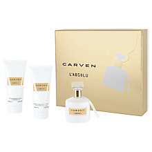 Buy Carven L'absolu 100ml Eau de Parfum Fragrance Gift Set Online at johnlewis.com