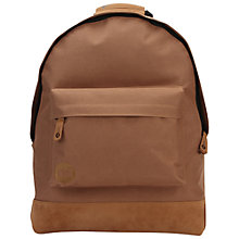 Buy Mi-Pac Classic Mocha Backpack Online at johnlewis.com