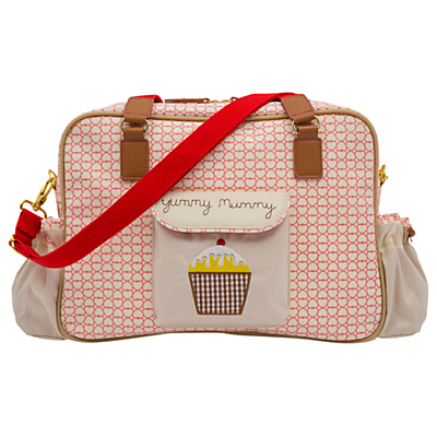 Pink Lining Yummy Mummy True Love Changing Bag CreamRed