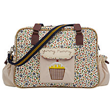 Buy Pink Lining Yummy Mummy Busy Bees Print Changing Bag Online at johnlewis.com