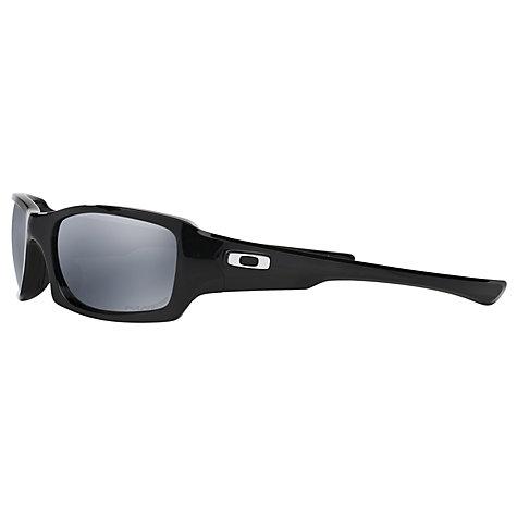 2d1e5dfb76 oakley fives squared sunglasses polished black polarised black iridium