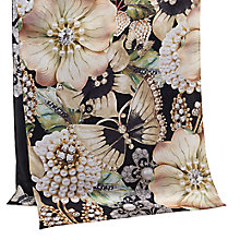 Buy Ted Baker Aurora Gem Gardens Silk Scarf, Ecru/Multi Online at johnlewis.com