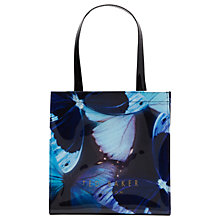 Buy Ted Baker Avicon Butterfly Collective Shopper Bag, Black Online at johnlewis.com