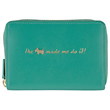 Buy Radley Excuses, Excuses! Medium Zip Purse, Green Online at johnlewis.com