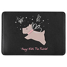 Buy Radley Away With The Fairies Leather Travel Card Holder Online at johnlewis.com