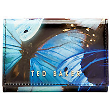 Buy Ted Baker Allvoe Butterfly Collective Leather Coin Purse, Black Online at johnlewis.com