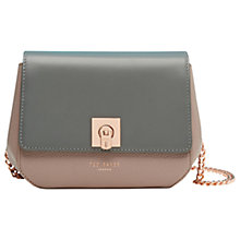 Buy Ted Baker Chelsee Small Colour Block Across Body Bag Online at johnlewis.com