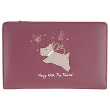 Buy Radley Away With The Fairies Medium Zip Leather Purse Online at johnlewis.com