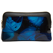 Buy Ted Baker Ceeloe Butterfly Collective Small Wash Bag, Black Online at johnlewis.com