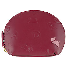 Buy Radley Oriel Small Leather Coin Purse, Red Online at johnlewis.com