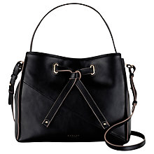 Buy Radley Newton Large Leather Drawstring Grab Bag Online at johnlewis.com