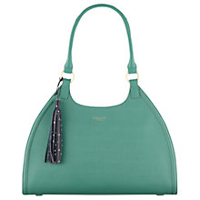 Buy Radley Ormond Large Leather Tote Bag, Shamrock Green Online at johnlewis.com