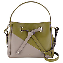 Buy Radley Newton Medium Leather Drawstring Grab Bag Online at johnlewis.com