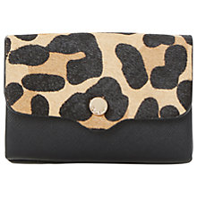 Buy Dune Kimberley Envelope Purse, Leopard Online at johnlewis.com
