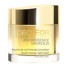 Buy Decléor Aromessence Magnolia Youth Energy Night Balm, 15ml Online at johnlewis.com