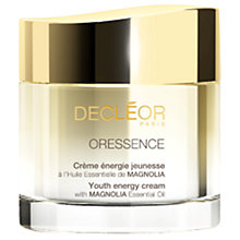 Buy Decléor Oressence Youth Energy Cream, 50ml Online at johnlewis.com