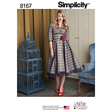 Buy Simplicity Sew Chic Women's Dress Sewing Pattern, 81657 Online at johnlewis.com