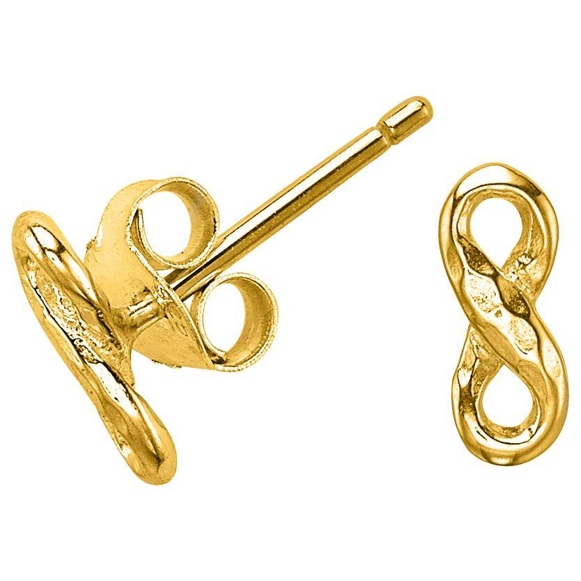 Dower & Hall Dower & Hall Entwined Infinity Stud Earrings