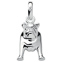 Buy Links of London Sterling Silver Dog Charm, Silver Online at johnlewis.com