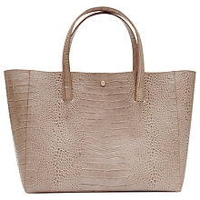 Buy Reiss Louie Tote Bag, Neutral Online at johnlewis.com