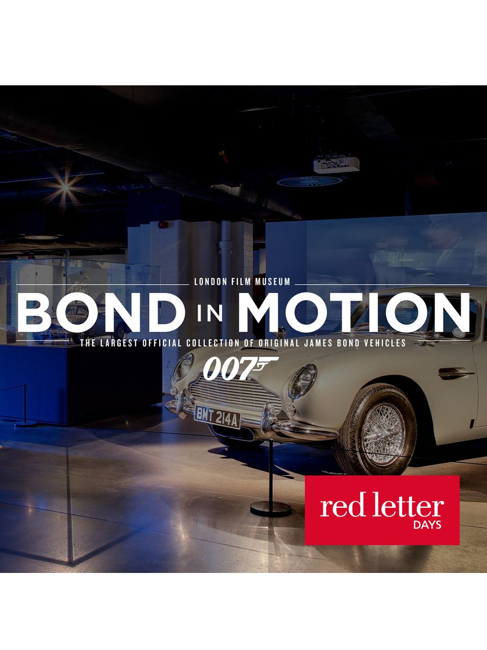 Red Letter Days Red Letter Days Bond Exhibition & Meal For Two