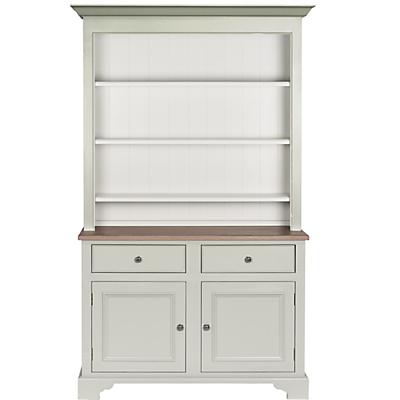 Neptune Chichester 4ft Open Rack Dresser, Shingle