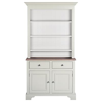 Neptune Chichester 3ft 6 Open Rack Dresser, Shingle