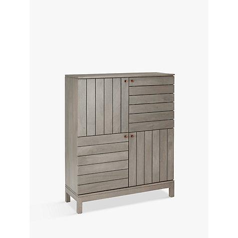Buy john lewis asha tall four door cabinet john lewis for 300mm deep kitchen units