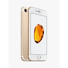 "Buy Apple iPhone 7, iOS 10, 4.7"", 4G LTE, SIM Free, 32GB Online at johnlewis.com"