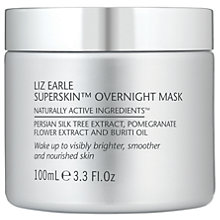 Buy Liz Earle Superskin™ Overnight Mask, 100ml Online at johnlewis.com