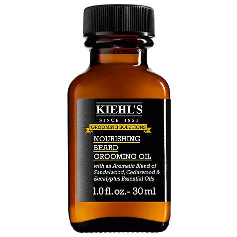 buy kiehl 39 s nourishing beard oil 30ml john lewis. Black Bedroom Furniture Sets. Home Design Ideas