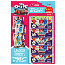 Buy Match Attax Barclays Premier League 2016/17 Trading Cards Multi Pack Online at johnlewis.com